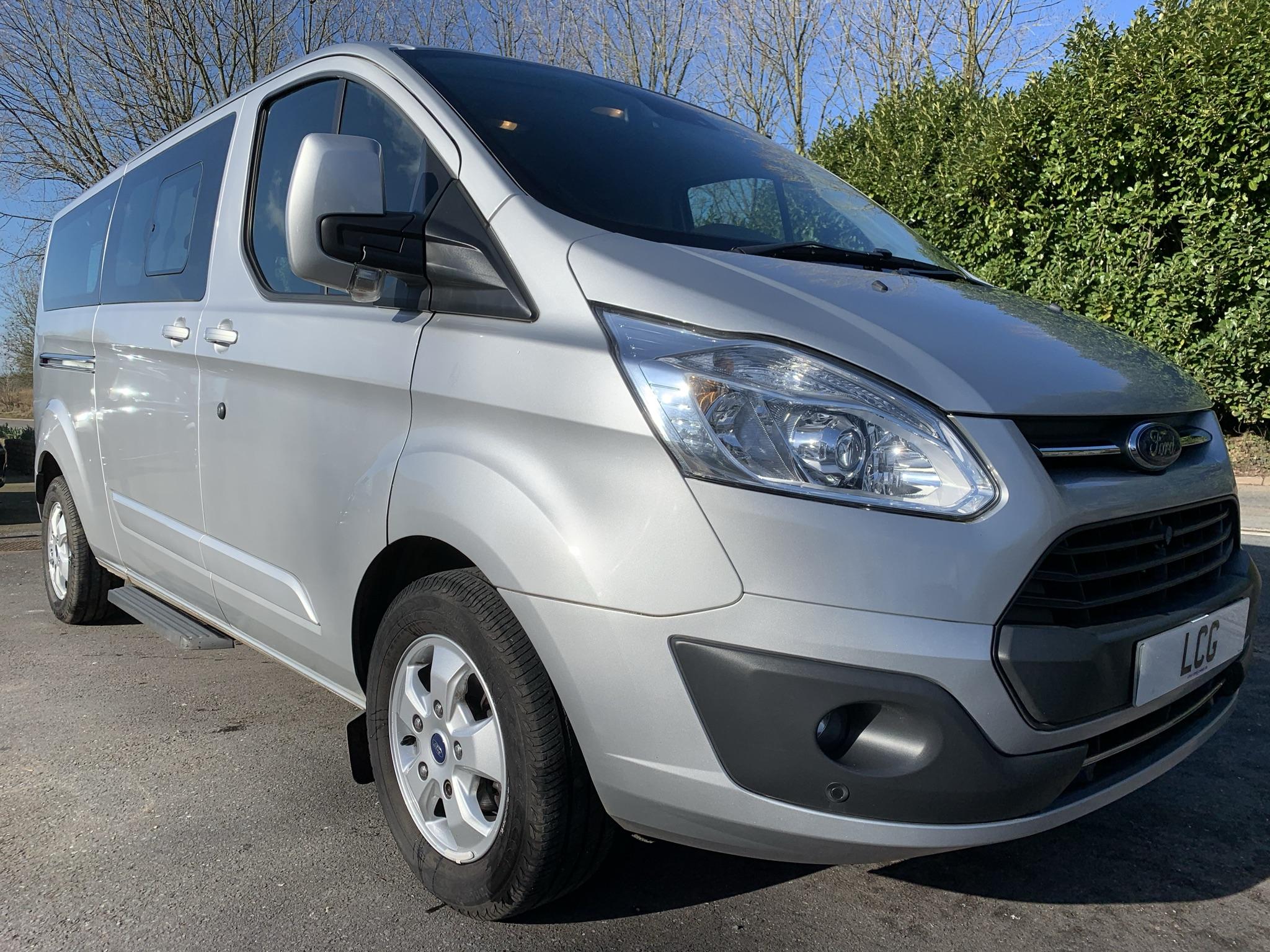 Used Ford Tourneo Custom 310 Titanium 9 Seater Minibus Saloon minibuses for sale in Exeter, Devon