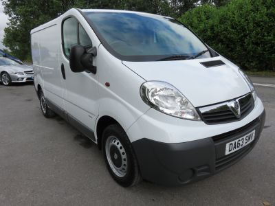 Used Vauxhall Vivaro 2900 Cdti Swb For Sale In Exeter