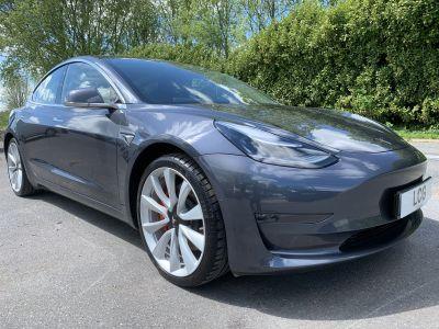 Used Tesla Model 3 Dual Motor Performance AWD Saloon Cars